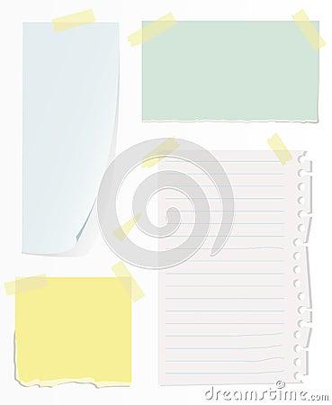 Free Notes On White Wall Stock Photo - 3412580