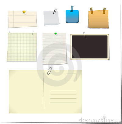 Free Notes & Stickies Royalty Free Stock Photography - 2545187