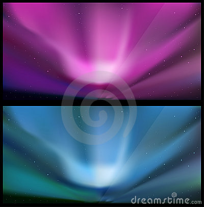 Free Nothern Blue Aurora Backgrounds. Stock Photography - 18819232