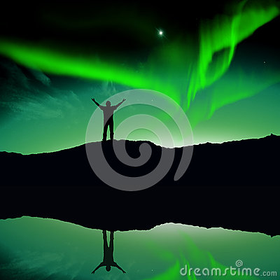 Free Nothern Lights, Aurora Royalty Free Stock Photos - 41826688