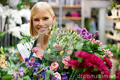 Nothing s as beautiful as fresh flowers