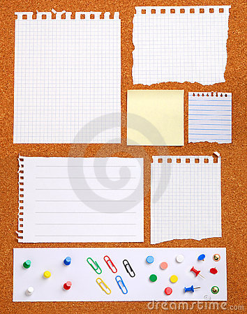 Free Notice Board Stock Photography - 7477482