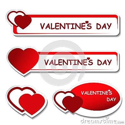 Notice board - valentines day label