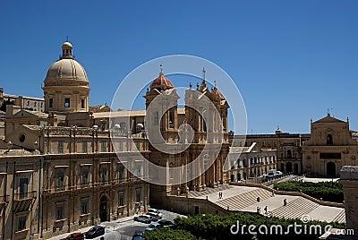Noto baroque town, Sicily, Italy