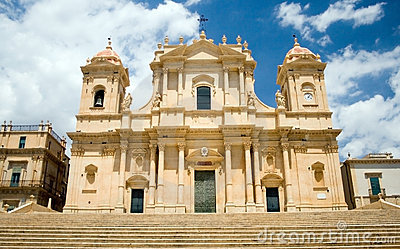 Noto-The cathedral