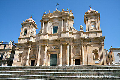 Noto, the cathedral