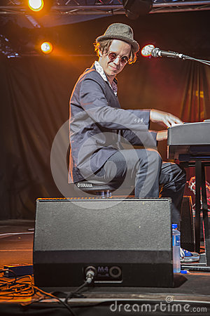 Free Notodden Blues Festival 2013, Little Andrew Royalty Free Stock Image - 34365696