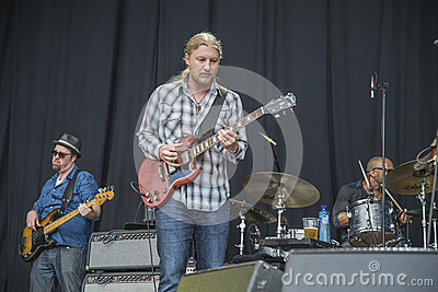 Notodden blues festival 2013, tedeschi trucks band, usa. Editorial Photography
