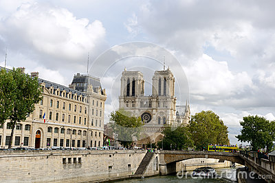 Notre dame Editorial Stock Photo