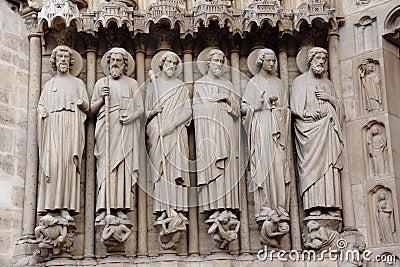 Notre Dame achitecture