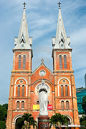 Notre Dame cathedral, Ho Chi Minh City.