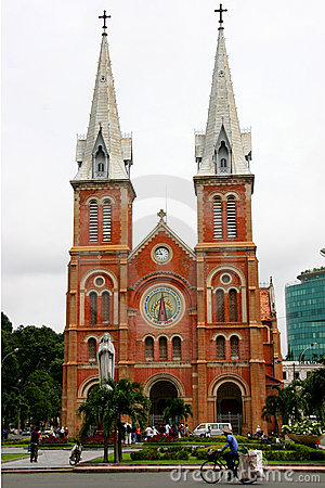 Free Notre Dame Cathedral, Ho Chi Minh City Royalty Free Stock Images - 464049
