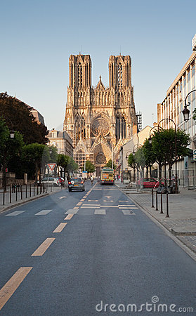 Free Notre Dame Cathedral In Reims, France Stock Photos - 17765233