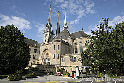 Notre Dame cathedral of Luxembourg