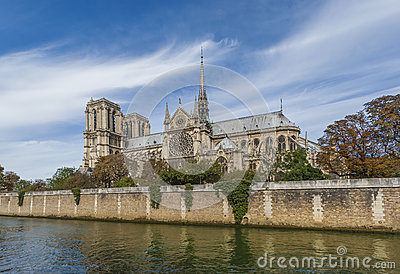 Notre Dame Cathedral - Paris Royalty Free Stock Images - Image: 27069649