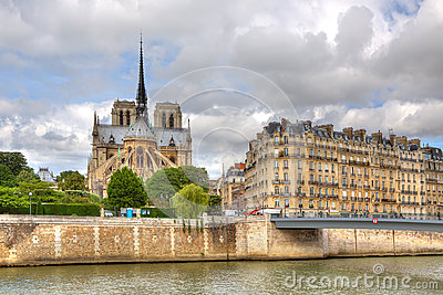 Notre Dame Cathedral. Paris, France.