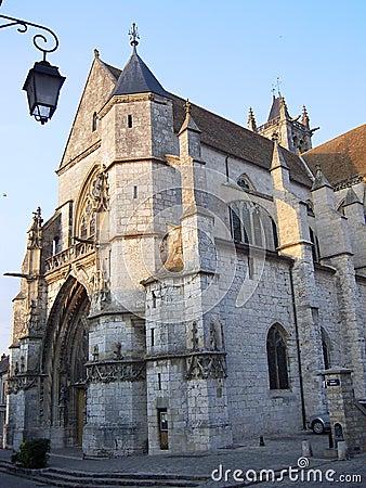 Notre Dame de Moret-sur-Loing ( France )