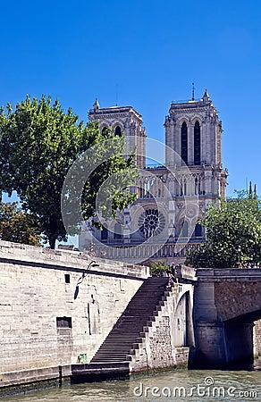 Notre Dame de Paris Editorial Stock Image