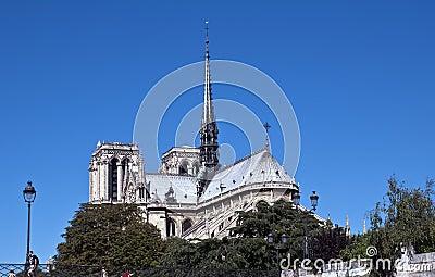 Notre Dame de Paris Editorial Photo