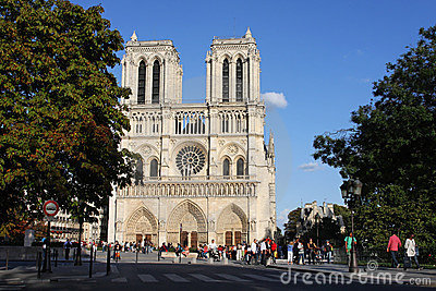 Notre Dame de Paris Editorial Photo