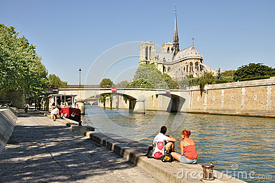 Notre Dame de Paris - France Editorial Photo