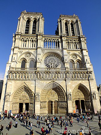 Notre Dame de Paris Editorial Stock Photo