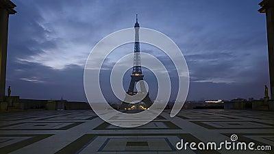 Notre-Dame de Paris och Seine River stock video