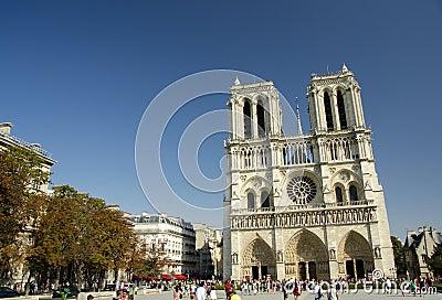 Notre Dame de Paris, Paris, France Editorial Photo