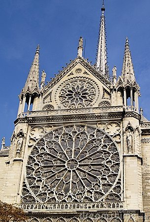 Free Notre Dame Detail Stock Photo - 7740700