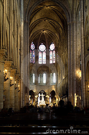 Free Notre-Dame Kathedral In Paris Stock Image - 5621161