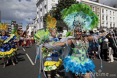 Notting Hill Carnival Editorial Stock Image