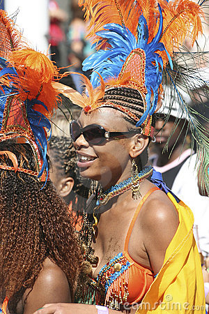 Notting Hill Carnival, 2006 Editorial Stock Image