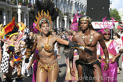 Notting Hill Carnival, 2006 Editorial Stock Photo