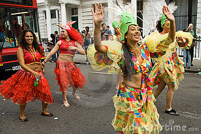 Notting hill carnival 2008 Editorial Stock Photo