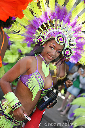 Notting Hill Carnival, 2010 Editorial Stock Image