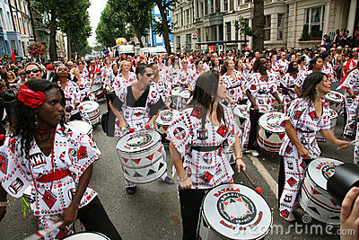 Notting Hill Carnival, 2010 Editorial Image