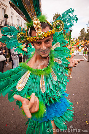 Notting Hill Carnival 2011 Editorial Stock Photo