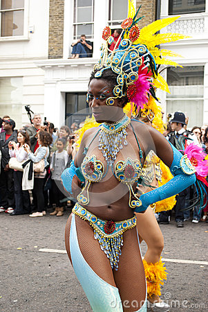 Notting Hill Carnival Editorial Stock Photo