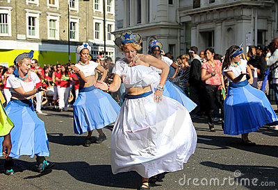 Notting Hill Carnival - Dance Editorial Stock Image
