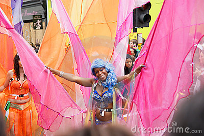 Notting Hill Carnival, London, 2011 Editorial Stock Image