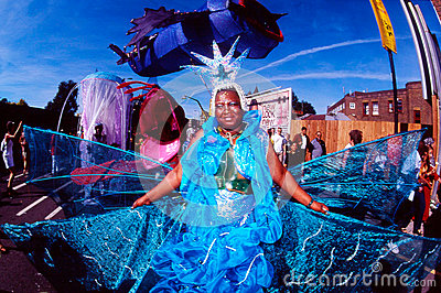 Notting Hill Carnival in London UK Editorial Stock Image