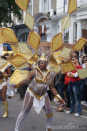 Notting Hill Festival Parade 2010 Editorial Stock Image