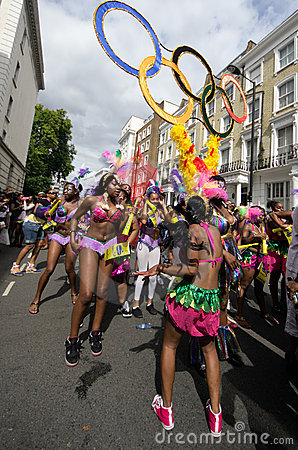 Notting Hill s Carnival in West London, UK Editorial Photography