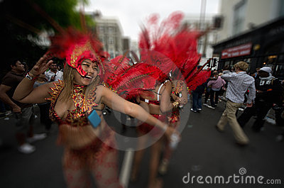 Notting Hill s Carnival in West London, UK Editorial Stock Image