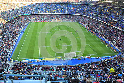 Nou Camp stadion Editorial Photo