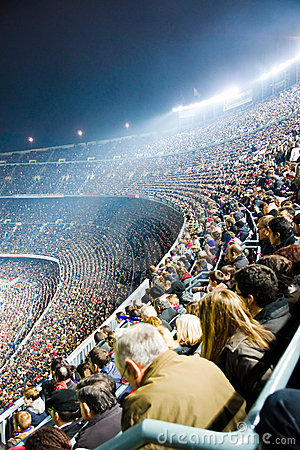 Nou Camp Stadium Editorial Stock Photo