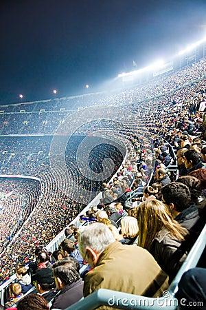 Nou Camp Stadium Editorial Stock Photo