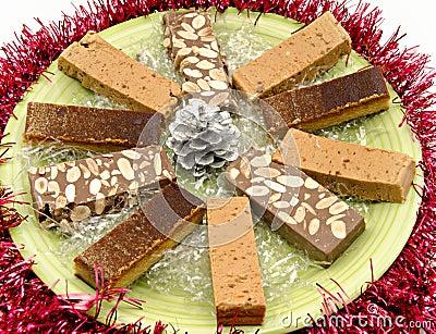 Nougat of almond
