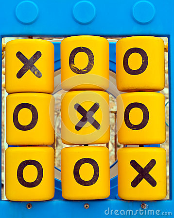 Free Noughts And Crosses Playground Game Stock Photo - 29959250