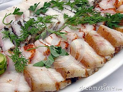 Nourriture ukrainienne saindoux frais sal salo images for Cuisine ukrainienne